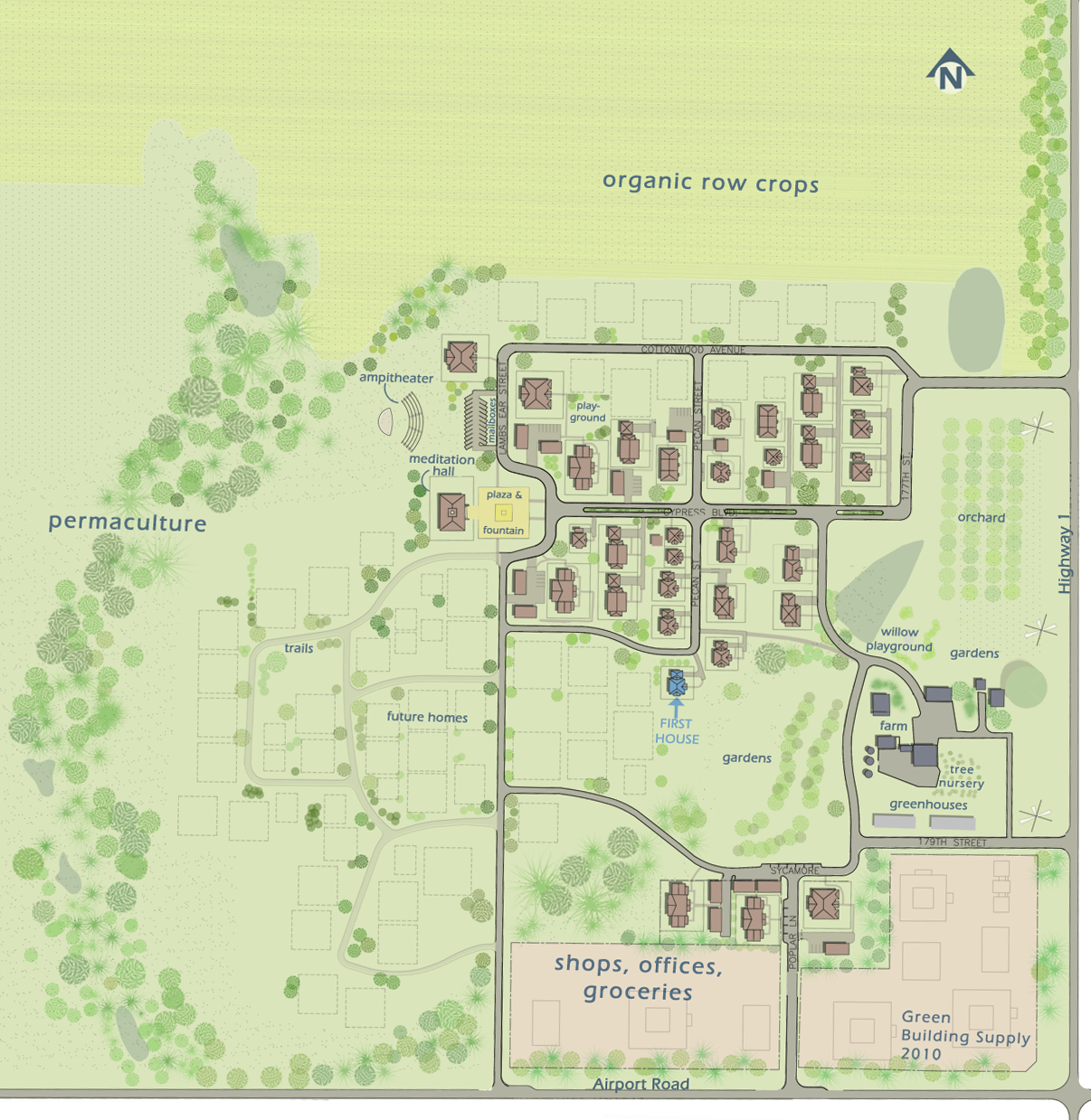 Cypress Village Site Plan